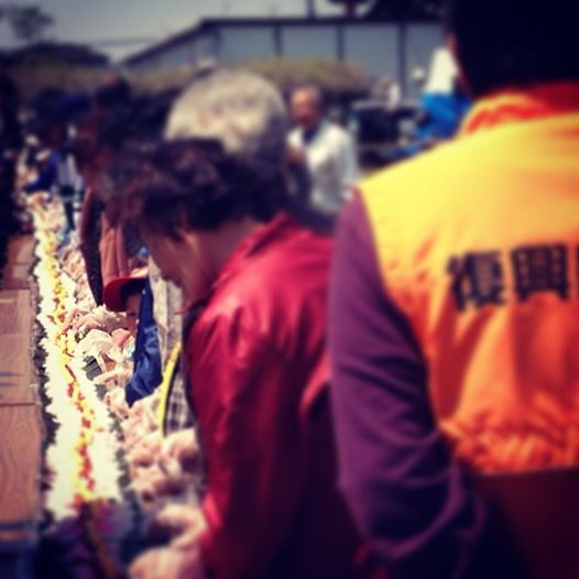 宮城県東松島市復興支援 仮設住宅春祭りボランティア体験記 1